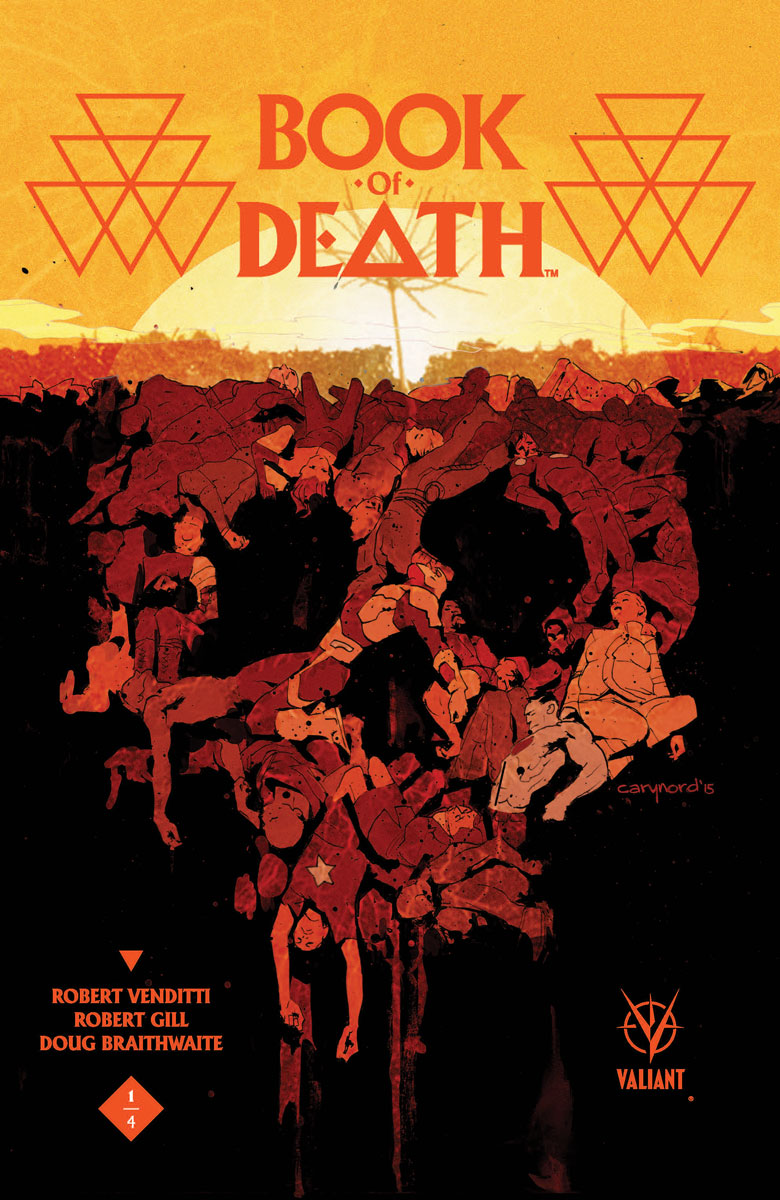 BOOK OF DEATH #1   Val...