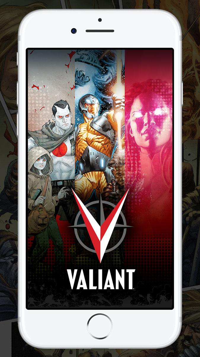 Valiant Entertainment Unveils the Official Valiant Comics