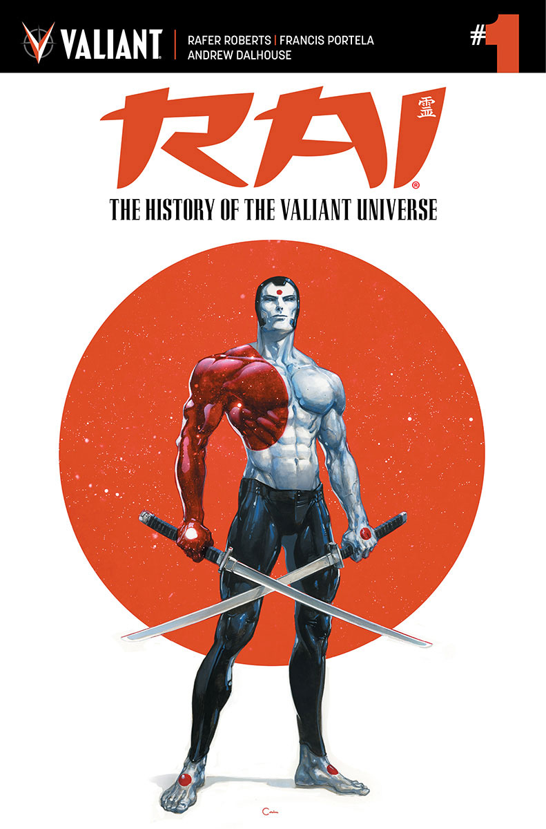 Valiant Previews: RAI: THE HISTORY OF THE VALIANT UNIVERSE #1 – On Sale  June 14th!