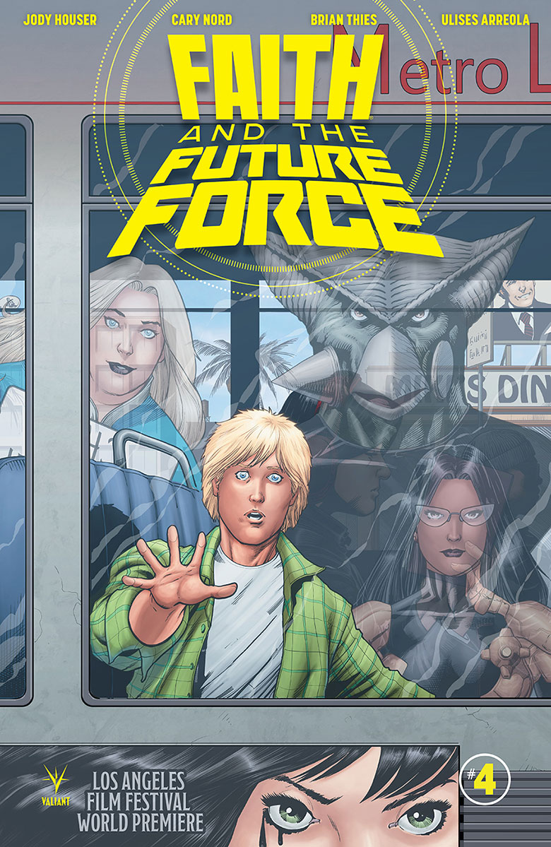 Valiant Previews: FAITH AND THE FUTURE FORCE #4 | WAR MOTHER #3 – On