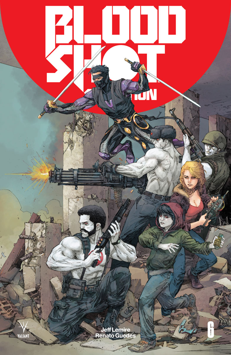 Image result for bloodshot: Salvation issue 6