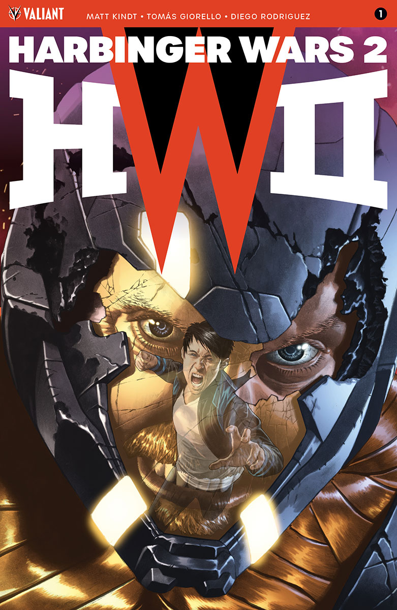 Valiant Solicitations for MAY 2018 – HARBINGER WARS 2 #1 (of