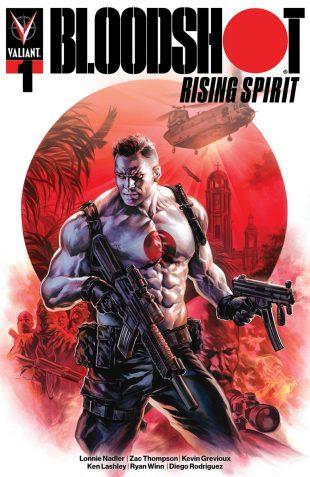 148b7c121a Valiant Previews: BLOODSHOT RISING SPIRIT #1 | NINJA-K #13 – On Sale  November 14th!