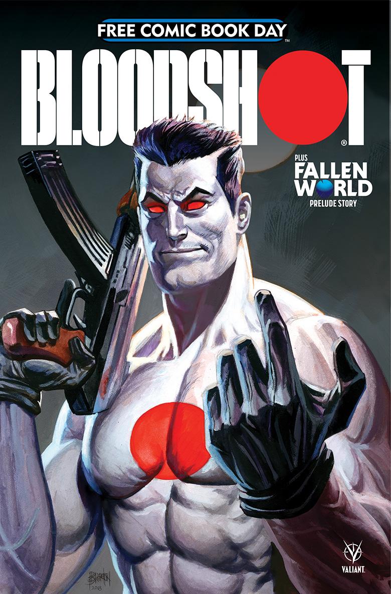 Bloodshot Comic