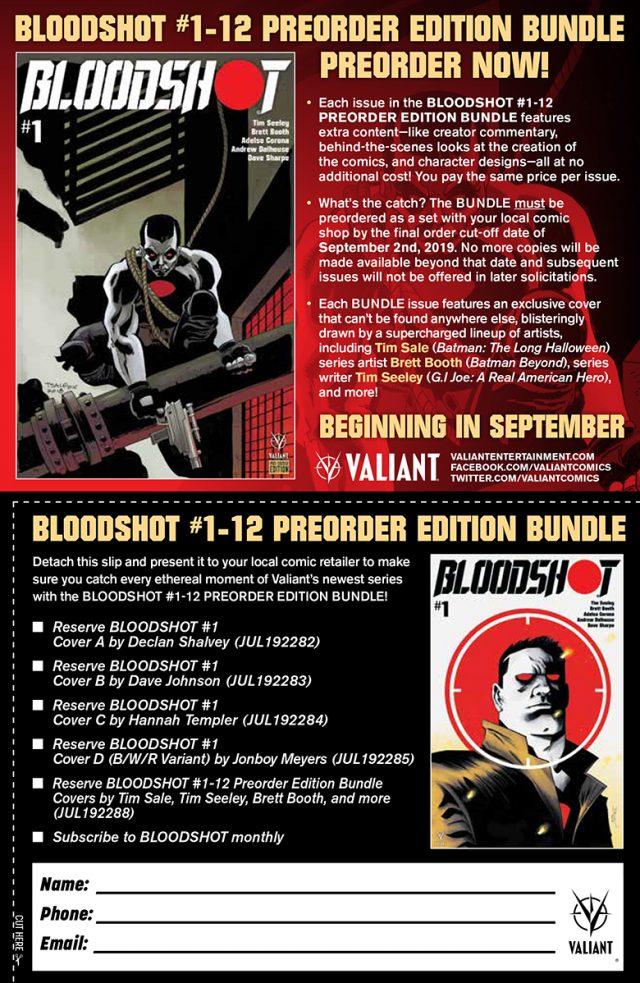 Announcements   Valiant Entertainment